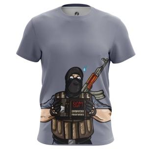 Футболка Террорист - купить в teestore. Доставка по РФ