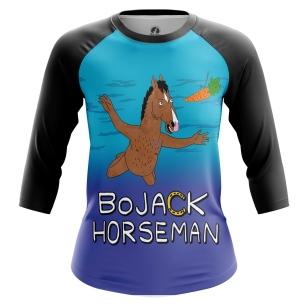 Женский Реглан 3/4 BoJack Horseman - купить в teestore