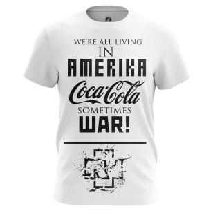 Футболка Rammstein Amerika - купить в teestore. Доставка по РФ