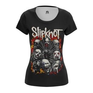 Женская Футболка Slipknot 2 - купить в teestore