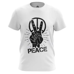 Футболка Peace - купить в teestore. Доставка по РФ