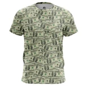 Футболка Доллары - купить в teestore. Доставка по РФ