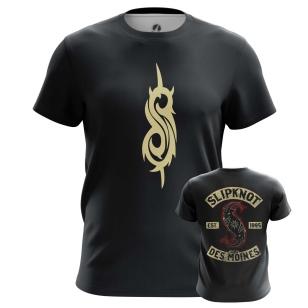 Футболка Slipknot logo - купить в teestore. Доставка по РФ