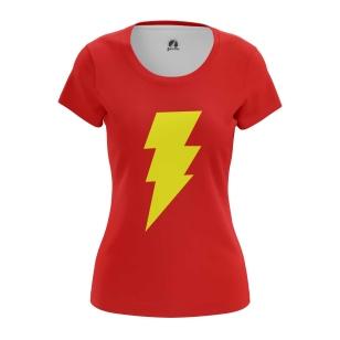 Женская Футболка Shazam - купить в teestore