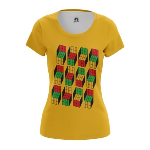 Женская Футболка Кубик Рубика - купить в teestore