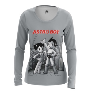 Женский Лонгслив Retro Astroboy - купить в teestore