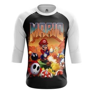 Мужской Реглан 3/4 Mario Doom - купить в teestore
