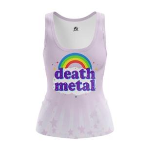 Женская Майка Death metal - купить в teestore