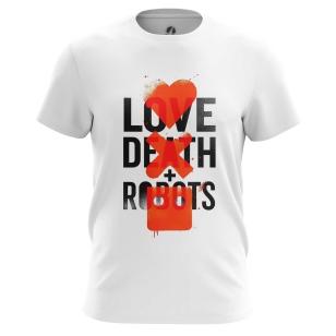 Футболка Love death robots - купить в teestore. Доставка по РФ