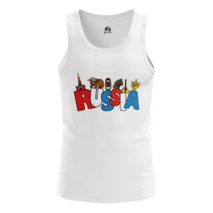Мужская Майка Russia - купить в teestore