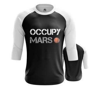 Мужской Реглан 3/4 Occupy Mars - купить в teestore