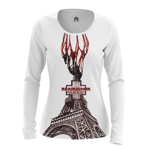 Женский Лонгслив Fruhling in Paris - купить в teestore