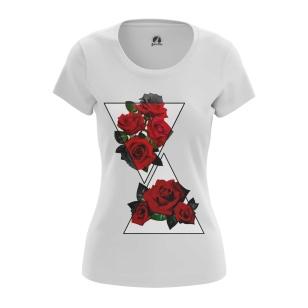 Женская Футболка Rose - купить в teestore