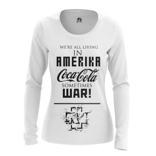 Женский Лонгслив Rammstein Amerika - купить в teestore