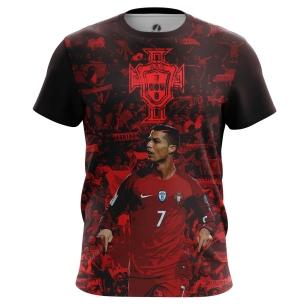 Футболка Роналду Португалия - купить в teestore. Доставка по РФ