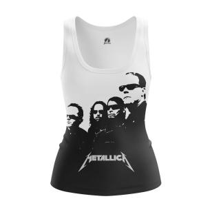 Женская Майка Metallica in black - купить в teestore