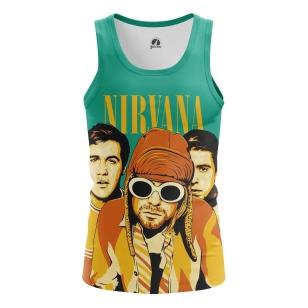 Мужская Майка Nirvana - купить в teestore
