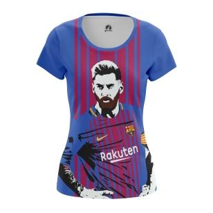Женские Женские футболки Messi. Доставка по всей России