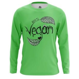 Мужской Лонгслив Vegan - купить в teestore