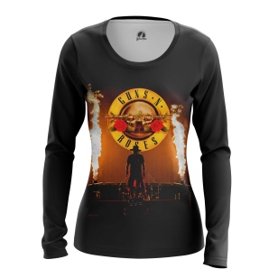 Женский Лонгслив Guns N' Roses - купить в teestore