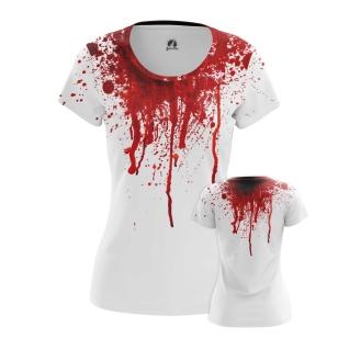 Женская Футболка Blood - купить в teestore