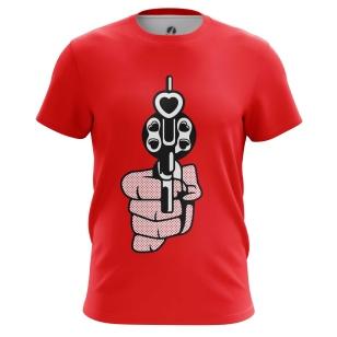 Футболка Пистолет - купить в teestore. Доставка по РФ