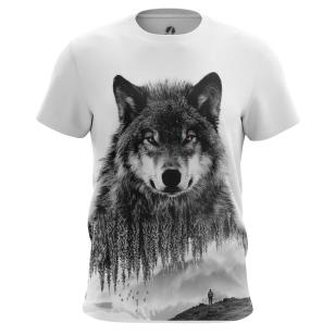Футболка Волк - купить в teestore. Доставка по РФ