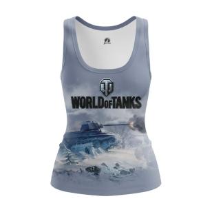 Женская Майка World of Tanks ice  - купить в teestore