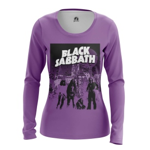 Женский Лонгслив Black Sabbath - купить в teestore