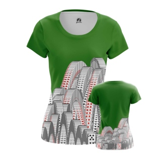 Женская футболка Пасьянс  купить
