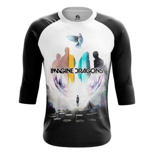 Мужской Реглан 3/4 Imagine Dragons - купить в teestore