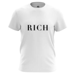 Футболка Rich - купить в teestore. Доставка по РФ