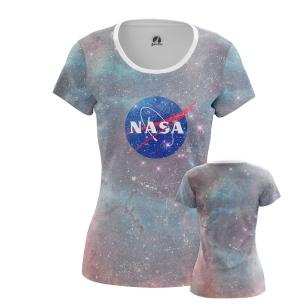 Женские Женские футболки NASA космос. Доставка по всей России