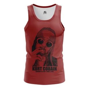 Мужская Майка Kurt Cobain - купить в teestore