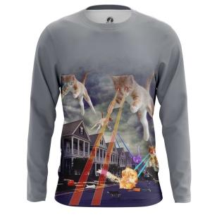 Мужской Лонгслив Cat Invasion - купить в teestore