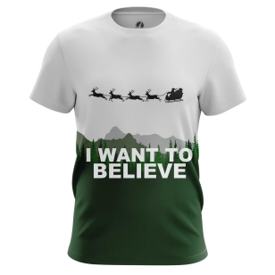 Футболка I want to believe купить
