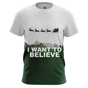 Футболка I want to believe - купить в teestore. Доставка по РФ