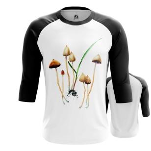 Мужской Реглан 3/4 Mushrooms - купить в teestore