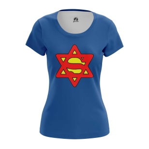 Женские Женские футболки Super Jew. Доставка по всей России