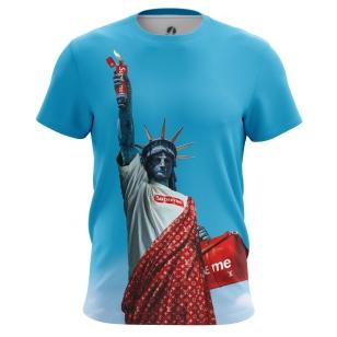 Футболка Supreme Statue - купить в teestore. Доставка по РФ