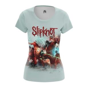 Женская Футболка Slipknot - купить в teestore