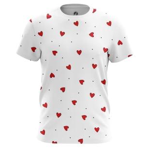 Футболка Сердца сердца - купить в teestore. Доставка по РФ