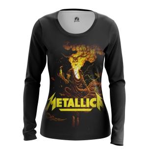 Женский Лонгслив Metallica - купить в teestore