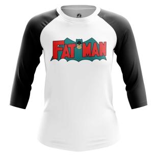 Женский Реглан 3/4 Fat Man - купить в teestore