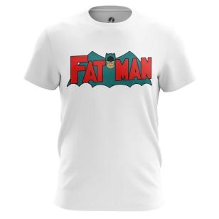 Футболка Fat Man - купить в teestore. Доставка по РФ