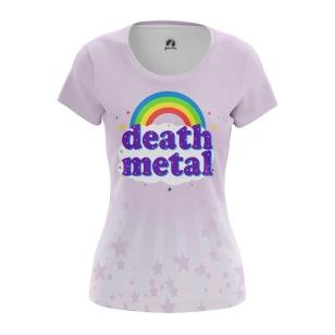 Женская Футболка Death metal - купить в teestore