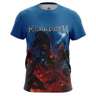 Футболка Megadeth - купить в teestore. Доставка по РФ