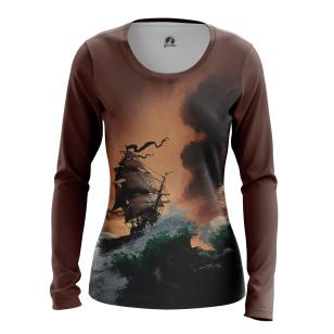 Женский Лонгслив Пираты Карибского моря - купить в teestore