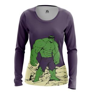 Женский Лонгслив Hulk - купить в teestore