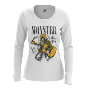 Женский Лонгслив Monster - купить в teestore